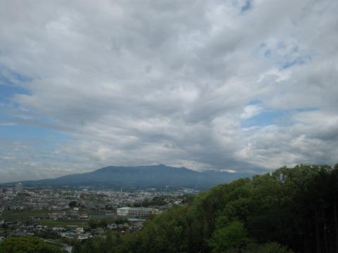 向山古墳群からの眺望です。