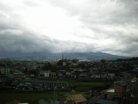 東壱町田みどり野公園付近からの眺望。