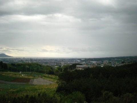 末広山からの眺望。