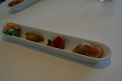 Cafe&barCreamランチの前菜