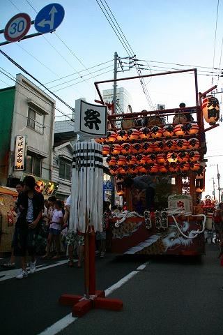 三島大社祭り山車2