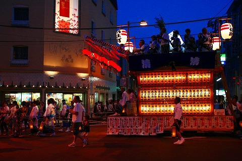 三島大社祭り山車3