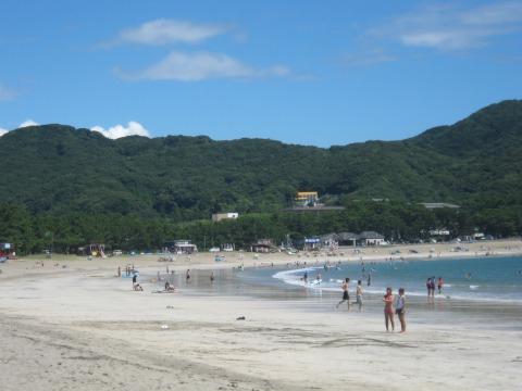 南伊豆町弓ヶ浜海水浴場