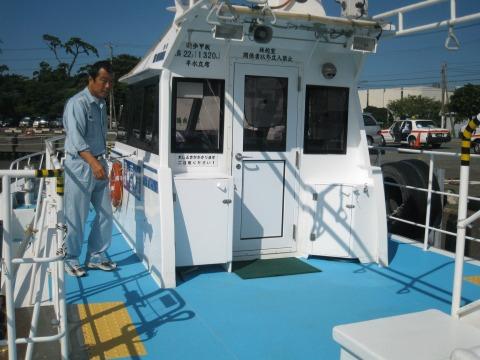 ホワイトマリン船内3