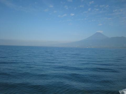 ホワイトマリンからの富士山2