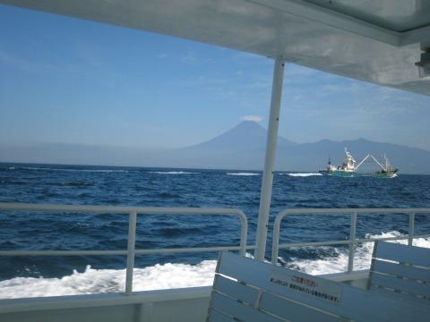 ホワイトマリンからの富士山5