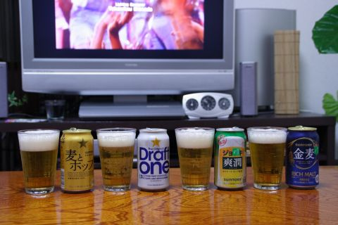 第3のビールエントリー