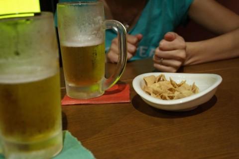 生ビールはウマいです